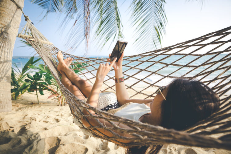 werven via social media in de zomer